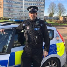Chief Inspector Scott Cannon out on patrol in Southend yesterday with PCSO Adams.