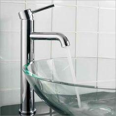 Modern Chrome Vessel Faucet