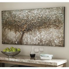 Mind blowing Interior painting tips spackle,Interior paint cool colors and Interior living room paint colors. Metal Tree Wall Art, Diy Wall Art, Wall Art Sets, Diy Art, Framed Wall Art, Canvas Wall Art, Canvas Canvas, Cotton Canvas, Glitter Art