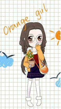 笨娜娜orange girl