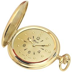 Mens Gold-Tone Quartz Pocket Braille Watch -- See this great product. 3 O Clock, Discount Beauty, Fun Workouts, Pocket Watch, Quartz, Watches, Gold, Accessories, Discount Handbags