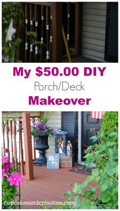 My $50.00 DIY porch