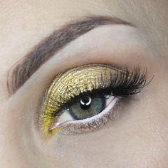 day look-gold – Makeup Geek