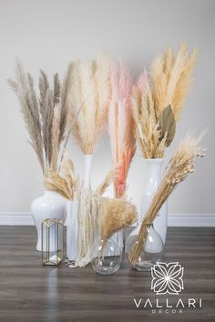 You asked we delivered! Take nature home. Very fluffy Pampas grass/Dried Reeds are a wonderful touch to any home or centerpiece! They are resilient and last for years to come. Our Pampas grass is not altered in anyway or bleached. They are all-natural and ready to be displayed! These are perfect as a gift or for yourself. They are a blush tone! ✨Follow us on social media!✨ 👉Instagram - @VallariDecor 👉Pinterest - @VallariDecor 👉Facebook - @VallariDecor Diy Centerpieces, Pampas Grass, Rustic Decor, Blush Pink, Rustic Wedding, Wedding Decorations, Social Media, Display, Touch