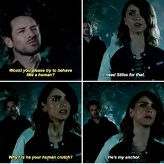 Teen Wolf (I don't ship stalia so thats more like omg yas friendship ) Teen Wolf Malia, Stiles And Malia, Teen Wolf Mtv, Teen Wolf Funny, Teen Wolf Boys, Teen Tv, Teen Wolf Dylan, Teen Wolf Cast, Teen Wolf Quotes