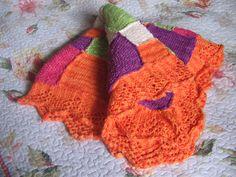 colorida manta de bebé