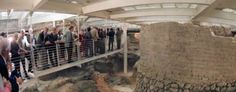 The excavations are open from 10 am to 1.30 p.m and from 3 p.m to 6.30 p.m from Tuesday to Saturday.