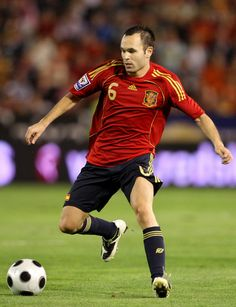 andres iniesta. love this guy. he's so talented but so humble!