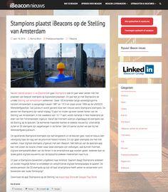 iBeacon nieuws (19 april 2016): Stampions plaatst iBeacons op de Stelling van Amsterdam