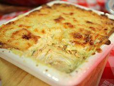 Recetas   Lasagna de salmón y espinaca   Utilisima.com