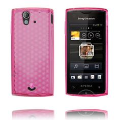 Cubes (Pink) Sony Ericsson Xperia Ray Cover