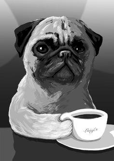I need my coffee by Alex Milway.