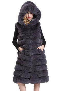 Topfur Women's Long Vest Dark Grey Fox Fur Waistcoat with... https://www.amazon.com/dp/B01J6YPBUO/ref=cm_sw_r_pi_dp_x_1uFuybKS1FW42