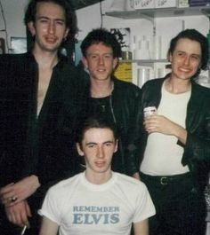 Suede and the hilarious Brett's smile...