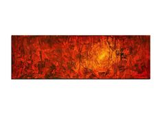 """Acrylic, abstract red painting, Original Art by AG : """"7 SCHATTEN"""", Gallery of modern & contemporary  Art The Artmakers by TheArtmakers on Etsy https://www.etsy.com/listing/167015036/acrylic-abstract-red-painting-original"""