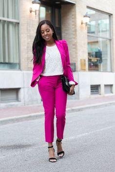 9 to 5 style | Zara Suit - Simply Shantel