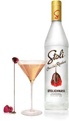 """Chocolate Razberi"" #vodka for you @Alvaro Lecumberri yumm #packaging"