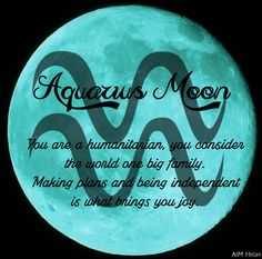 Keywords an Aquarius Moon can relate to. Enjoy!