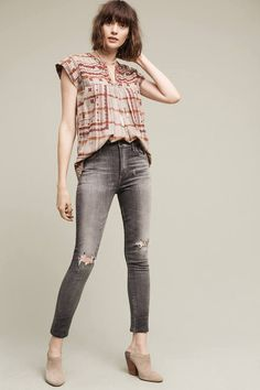 Citizens Of Humanity Citizens of Humanity Carlie High-Rise Cropped Skinny Jeans