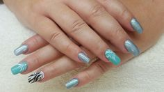 Nails for mermaid
