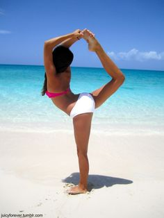 would love to have a beach for yoga
