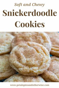 These Snickerdoodle cookies are easy to make and turn out perfectly delicious, soft and chewy every time. A must have cookie recipe!