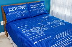 Star Trek TOS Schematic Duvet Cover and Pillow Cases. See more : Star Trek TOS Schematic Duvet Cover and Pillow Cases. Star Wars Cookbook, Star Trek Gifts, Star Trek Merchandise, Star Trek Tos, Cotton Duvet, Space Crafts, Pillow Cases, Cover Pillow, Duvet Covers