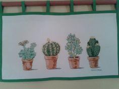 Cactus de punto de cruz