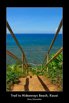 death defying beauty (Hideaways Beach, Kauai)