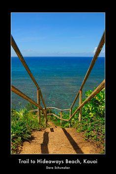 death defying beauty (Hideaways Beach, Kauai)