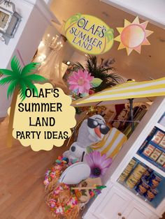 Frozen's Olaf Summer Land Party ~ Featured Party | Party Ideas By Seshalyn