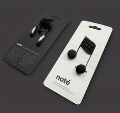 creative headphone packaging, advertising