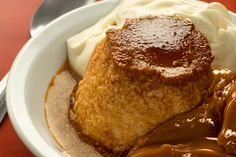 Flan mixto [image only]