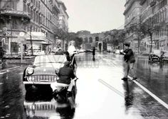 Rome 1960 - movie still from La Dolce Vita