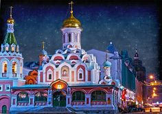 Kazan Cathedral, Red Square, Moscow, Russia