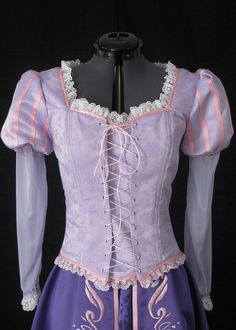 Rapunzel dress. I just think this is so cool. If only it was logical to spend that much money on it......