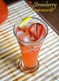Strawberry Sake Cocktail Recipe — Dishmaps