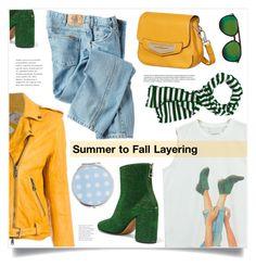 """Summer to Fall Layering"" by marina-volaric ❤ liked on Polyvore featuring Chicnova Fashion, Pihakapi, Tod's, Slater Zorn, Maison Margiela, Dickies, Wildfox, Miss Selfridge and layers"