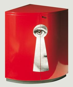 Fornasetti corner cabinet | The House of Beccaria
