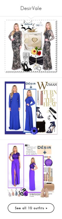 """DesirVale"" by newoutfit ❤ liked on Polyvore featuring York Wallcoverings, Hortense B. Hewitt, Giuseppe Zanotti, Jimmy Choo, StreetStyle, chic, dress, Imagine by Vince Camuto, Valentino and Bobbi Brown Cosmetics"