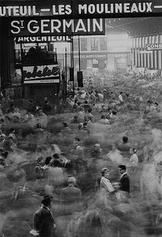 Gare Saint-Lazare, Paris, 1959 Photo by Frank Horvat
