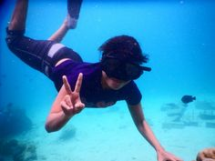 I always love snorkeling...