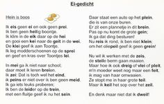Spelling weetjes - o.b.s. de Westwijzer, op youtube is ook een ei-liedje te vinden. Homeschool, Teaching, Words, Slim, Dyslexia, Learning, Homeschooling, Horse, Education