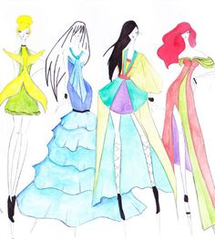 Disney Princess Haute Couture