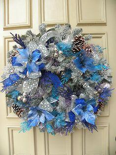 Traditional evergreen Christmas Door wreath