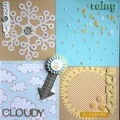 weather chart for preschool