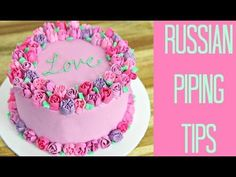 "Testing ""Russian Piping Tips"". They are an all-in-one flower tip.  Video shows how to best use them."