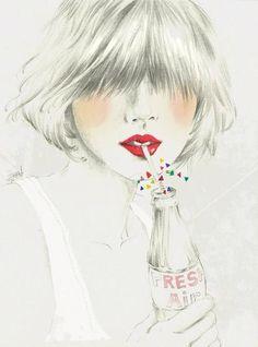 Fashion illustration x