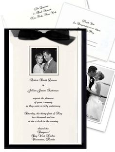 Classic Wedding Invitations & Custom Photo Invitations by Babies and Brides