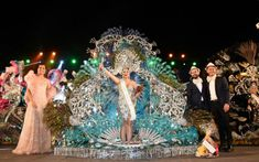 Grupo Mascarada Carnaval: Hoy, gala de la reinaen la plaza de Europa.